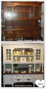 The Styling Hutch Repurposed China Hutch Coffee Bars Pinterest Repurposed
