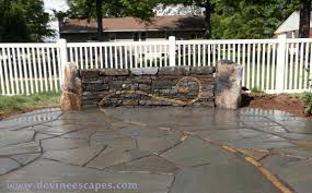 Dry Laid Bluestone Patio by Artistic Flagstone Patios Devine Escapes