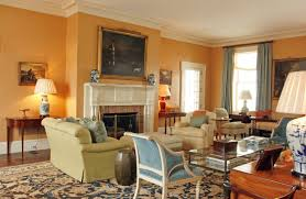 english cottage style furniture yellow couch cottage living room