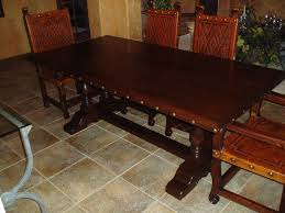 Renaissance Architectural Spanish Colonial Furniture Old - Colonial dining room furniture