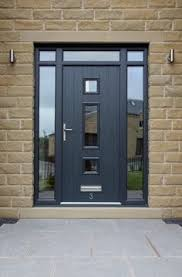 consider front doors to match if changing front windows love