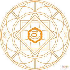 svadhishthana chakra mandala coloring page free printable