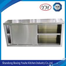 wall mounted kitchen storage cupboards china strong bearing stainless steel wall storage