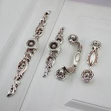 Shabby Chic Drawer Handles by French Shabby Chic Dresser Drawer Pulls Handles Antique Silver