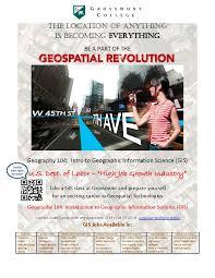 gis class online courses earth sciences grossmont college