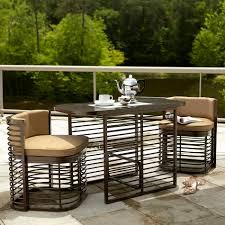 Bistro Patio Chairs by Grand Resort Perdido Beach 3 Piece Nesting Bistro Set Neutral