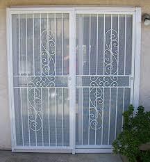 Secure Patio Door Wondrous Door Security Patio Doors As Patio