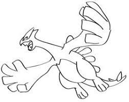 pokemon coloring pages lugia pokemon pictures to colour lugia flying google search lugia