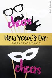 free printable photo booth props new year u0027s eve consumer crafts