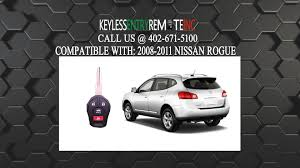 Nissan Rogue 2010 - how to replace nissan rogue key fob battery 2008 2009 2010 2011
