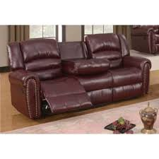 Burgundy Leather Sofa Bonded Leather Sofas Couches U0026 Loveseats Shop The Best Deals