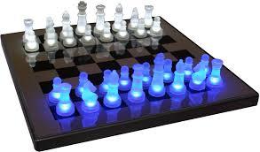 chess set designs led lit chess set interior design ideas