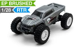 rc monster truck nitro exceed rc microx 1 28 micro scale monster truck ready to run 2 4