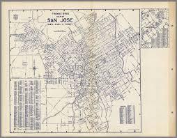 Cupertino Ca Map Thomas Bros Map Of San Jose Santa Clara U0026 Vicinity California