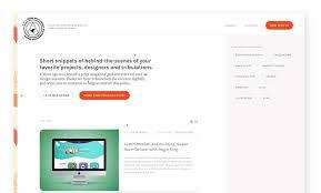 blog sites a gallery of blog site designs via css design awards