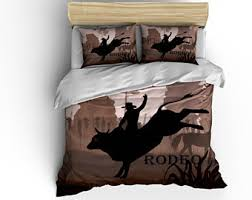 Western Duvet Covers Western Bedding Etsy
