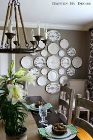 Creating a Decorative Plate Wall