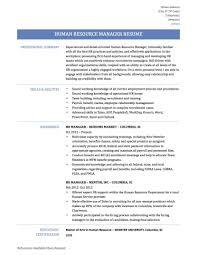 Lineman Resume Template Winning Hr Manager Resume Templates Office Emergency Management