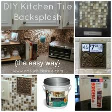 How To Do Tile Backsplash by Kitchen Kitchen Tile Backsplash Do It Yourself Artsy Diy