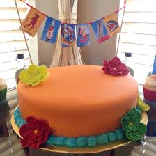 mexican fiesta or loteria theme cake made by jackie of pastel by