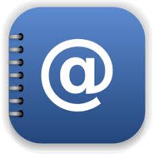 icone de bureau icône bureau adresse livre gratuit de pacifica icons