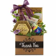 thank you basket many thanks cat owner gift luxury thank you gift basket pered