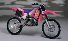 tm motocross bikes motocross action magazine two stroke tuesday the pink tm