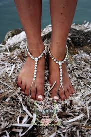 wedding barefoot sandals wedding barefoot sandals bridal boho anklet wedding