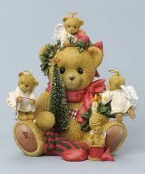 bradford exchange cherished teddies snowglobes ornament