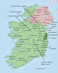 Blank Map Of Counties Of Ireland by Ireland U0026 County Pride