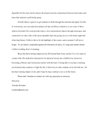 ideas collection student reference letter sample for college for