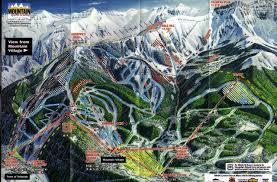 Telluride Colorado Map by Santa Fe Ski Resort