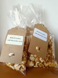 popcorn wedding favors gourmet popcorn wedding favours amos and tom s