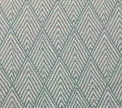 ballard designs belize spa blue diamond geometric fabric by the