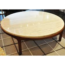 Round Marble Top Coffee Table Living Room Gorgeous White Marble Top Coffee Table Round For The