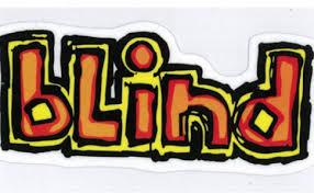 Blind Skate Logo Paraiso Skateboarding Colombia