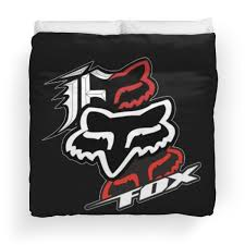 fox motocross bedding fox racing duvet covers redbubble