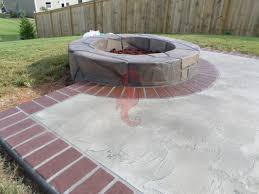 Concrete Fire Pit by Concrete Fireplaces Bbq Grills Fire Pits Greenville Sc
