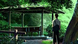 beautiful garden movie gates to the garden of words hd youtube