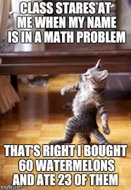 Diabetes Cat Meme - this math problem gave me diabetes imgflip