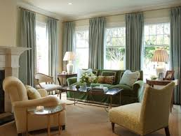 Green And Beige Curtains Inspiration Exterior Outstanding Large Curtain Windows Design With Double