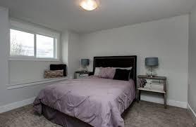 mirror bedside table bedroom contemporary with black headboard