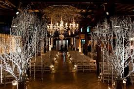 Marquee Chandeliers Enchanted Florist Glam Winter Wedding By Fête At Avenue Nashville