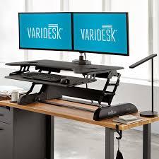 Sit Stand Desk Vancouver Varidesk Canada Height Adjustable Standing Desks
