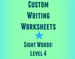 worksheets etsy