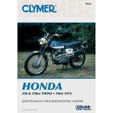 amazon com clymer honda twins 250 350cc manual m322 automotive