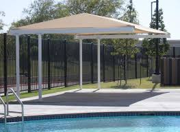 Swimming Pool Canopy by Awnings Dallas Fort Worth Shade Structures