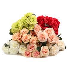 Cheap Cute Home Decor Online Get Cheap Cute Rose Flowers Aliexpress Com Alibaba Group