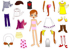 printable paper dolls kids under 7 new paper dolls with clothes