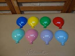 plastic balloons vintage set of 8 plastic balloons wall hanging room decor by